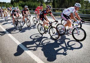 Cyklisterna fick strålande väder under hela den första etappen i Tour of Jamtland. Etappsegraren Christopher Opie tyckte dock vädret var okej, rent cykelmässigt:
