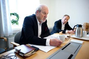Tunabyggens ordförande Olle Rigborn och vd Jörgen Olsson ser försäljningen av omsorgsfastigheter som bra för bolaget.