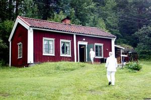 Bagarstugan vid hembygdsgården i Indal.