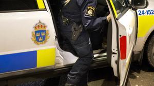 Genrebild polis