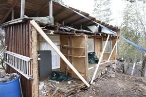 En grannfejd på norska Nesøya för två år sedan ledde till att ena parten delade en bod i två delar. Arkivbild.