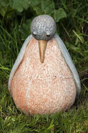 Den blåvingade pösmunken är ett av Marianne Grandiens djur.