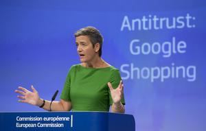 EU:s konkurrenskommissionärMargrethe Vestager.