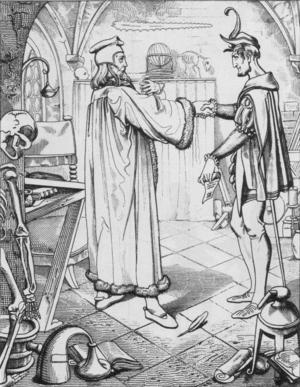 Vinjettbild   Skisser om Faust: del 1