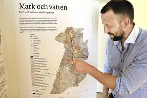 Erik Nordgren är projektledare för arbetet med kommunens nya översiktsplan.