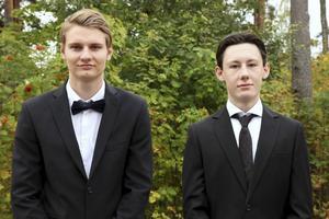 UF:s Teknikstipendiater, TimberStore UF från Älvdalens Utbildningscentrum. Ffrån vänster: Fredrick Leck och Christian Thors.