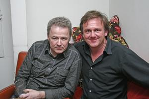 Å. Janne och Robert.