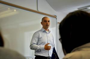 Igor Ardoris föreläste om mental träning.