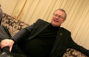 Falupolitikern Mikael Rosén var med på hårdrockskryssningen. Foto: Elena Larsson