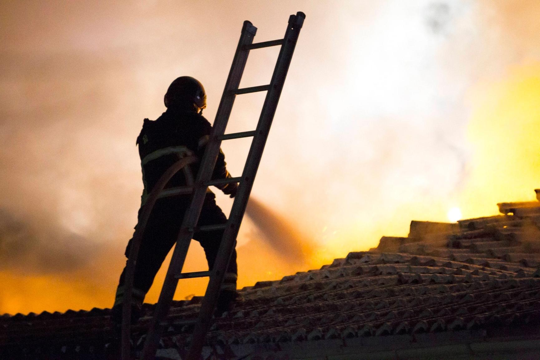 Brand forstorde radhus