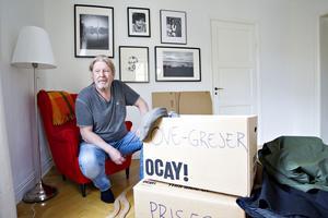 Beslutet att flytta var en process, men Rolf Lassgård beskriver det som en lättnad när det nu är bestämt.