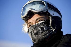 Det gäller att skydda sig mot kyla och vind.