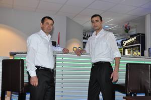 Ibrahim och Ahmet Sekersöz, bröderna som äger Hörnet restaurang och bar.