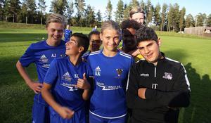 Amanda Källström, ensam tjej bland grabbarna i Bollnäs GIF P13.