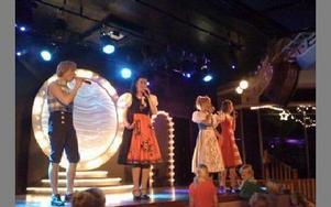 Bild från showen.FOTO: PRIVAT