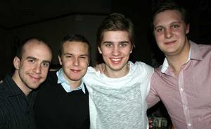 Tabazco. Joakim Andersson, Jens Bond, Nils  Åkerman och John Trusciate