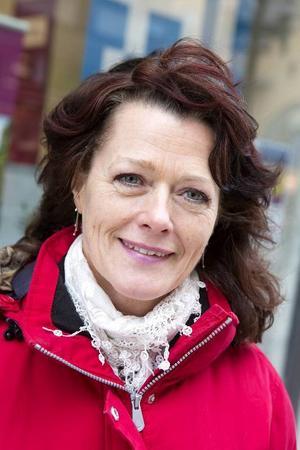 Gitte Blomkvist, Frösön:– I största allmänhet tycker jag att jag blir bemött bra. De tittar på en, noterar att man är där och så.
