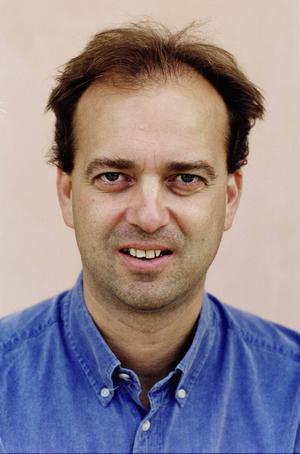 Per Forsberg, frilandsjournalist, som bland annat jobbar åt Viasat och är specialiserad på orientering.