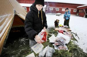 Kalle Dahlberg är nöjd med sin naturturismutbildning på Dille och hoppas kunna starta ett företag med jakt- och fisketurism som inriktning efter skolan.