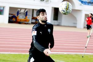 Ferhad Ayaz gav ÖSK ledningen mot danska AGF Aarhus i  sista matchen i Atlantic cup i Portugal.
