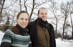 Flavia Devonas och Andreas Hoffman startade ett kulturhus i Lillhärdal.