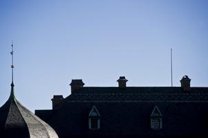 Ingen flagga på slottet under valdagen