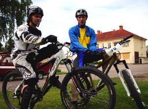Grattis! Både Lennie Nilsson och Tommy Johanson har tidigare tagit många medaljer vid olika tillfällen. Nu har de fler SM-segrar att stoltsera med. Foto:Lisa Olin