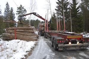 En kilometerskatt på lastbilar innebär kraftigt ökade kostnader för svensk landsbygd, där det sällan finns tåg eller andra alternativ till lastbilstransporter. Varutransporterna till den lokala affären blir dyrare, liksom timmertransporterna från skogen.