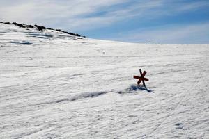 Fortfarande ligger snön djup runt om i Härjedalens fjällvärld. Men på andra ställen är det bart.