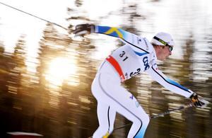 Lars Nelson slutade på 13:e plats och hade Calle Halfvarsson bakom sig i resultatlistan.    Arkivbild