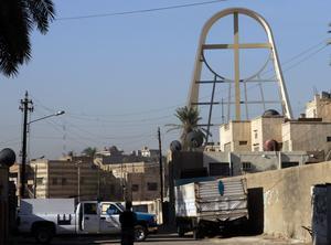 Vår Frus befrielsekyrka i Bagdad.