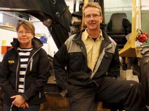 Lena och Mikael Olsson äger BS Entreprenader.