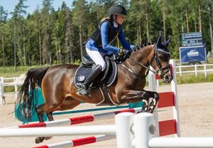 Cornelia Wallenborg avancerade i den individuella finalen på de nordiska mästerskapen och slutade på en sjätte plats.