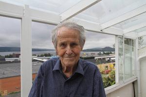 Wille Grut i sin lägenhet på Rådhusgatan, tidigare i år.Arkivbild: Thord Eric Nilsson