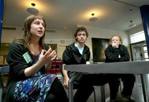 Unga rådsmedlemmar. Under helgen arrangerades en ungdomskonferens i Ludvika och vid den medverkade bland annat Emma Stark och Samir Sandberg, från Sveriges ungdomsråd och från det lokala ungdomsrådet Helen Johannesson.