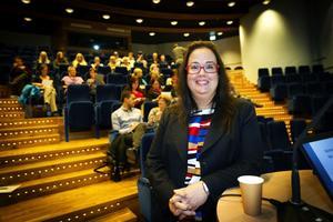 Föreläsaren Sophia Sundberg bor i Järfälla utanför Stockholm men älskar att föreläsa i norrland.