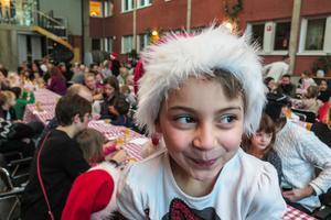 Nadja Eshagroni gillade hela julgransplundringen.