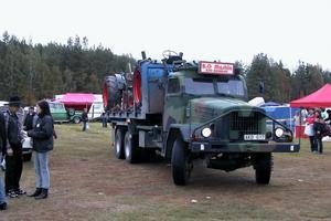 Imponerande fordon fanns också på plats.