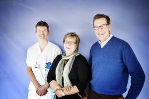 Åke Hamberg, Gunilla Widegren och Per Ramberg är de som jobbat hårt för att göra Benbanken i Östersund verklighet.