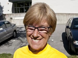 Lena Eriksson tror att hon varit med i Vårruset 15 gånger.