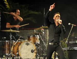 Las Vegas-bandet The Killers skulle kunna bli riktigt stora, tror Ola Broquist på Luger.