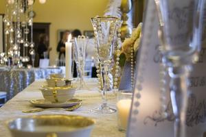 Bröllopsdekor från Scarlett Weddings.