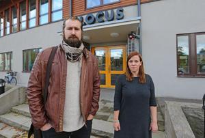 Isak Andersson och Katrin Weiler.