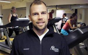 Årets företagare blev Patrik Schultz som driver friskvårdsanläggningen Må Bättre sedan sju år tillbaka.FOTO: ROLAND ENGVALL