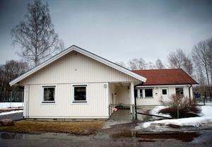 På Lillkyrka förskola var alla barn innomhus idag.