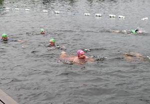 Erik Fellman är den förste någonsin som simmat tre lopp i rad i Vansbrosimningen.