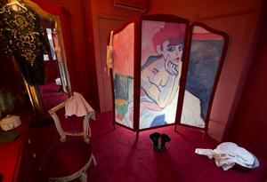 Efterfrågan ger sexhandel. Bilden från en bordell i Nederländerna