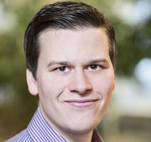 Niclas Dahl är verksamhetsledare vid Älgskadefondsföreningen.