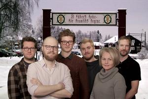Christian Larsen, Martin Trygg, Kristian Åkergren, Olle Liljeblad, Catharina Grufman och Mikael Hellsten är några av Mittmedias medarbetare som bevakar Vasaloppsveckan.