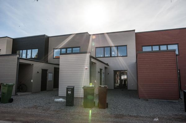 Radhusen är ritade av arkitekten Anders Holmberg.